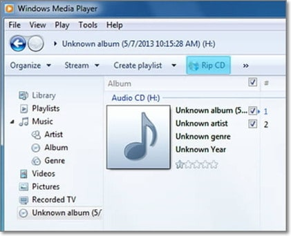 convert mp3 to wma by windows Media Player
