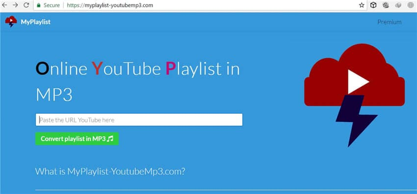 playlist do youtube para conversor de mp3 online