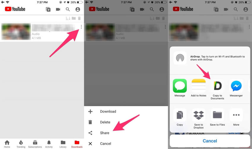 Application YouTube vers MP3 YouTube++ Tweaked 3