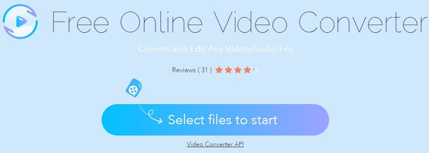Apowersoft Video Converte - online AVI to MP4 converter