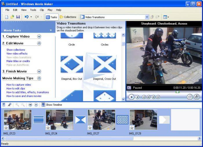 compress MP4 with Windows Movie Maker