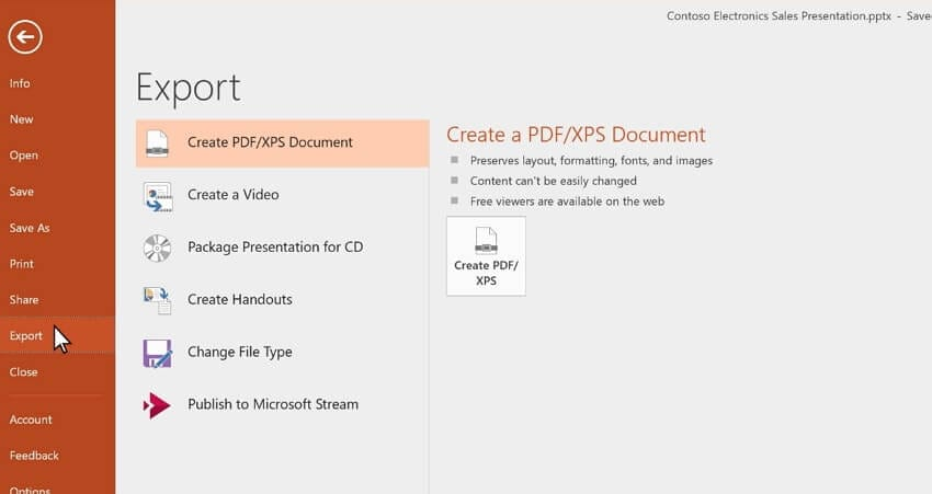 powerpoint to MP4