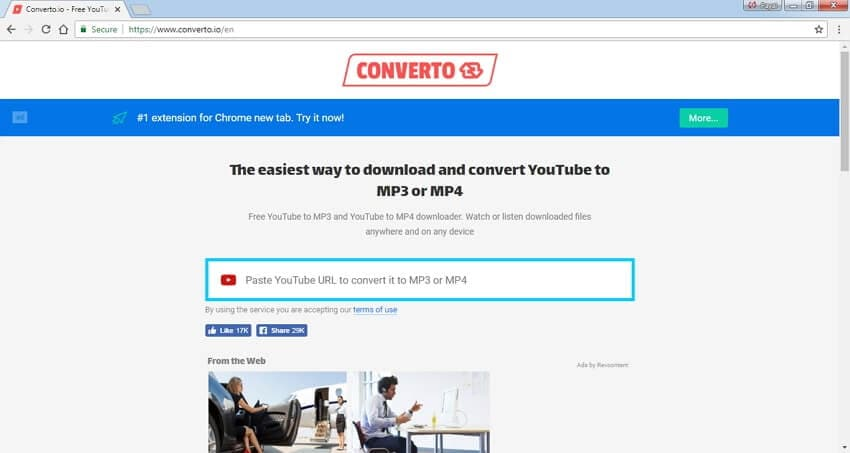 high quality youtube to MP4 converter converto