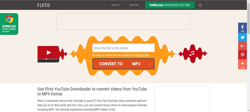 free online video converter to mp4 files FLVto