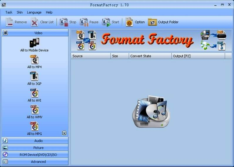 mkv to mp4 converter free download full version FormatFactory