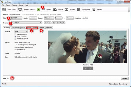 convert iso to mp4 handbrake