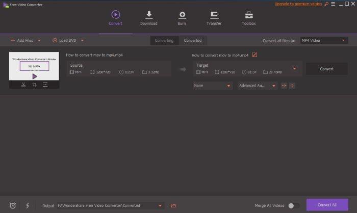 convert MP4 to Adobe Premiere free