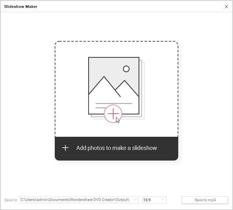 添加檔案至 jpg 轉 mp4 轉檔工具