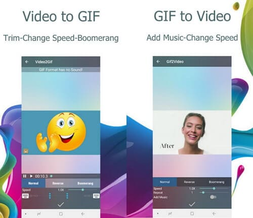 Convert MP4 to GIF android