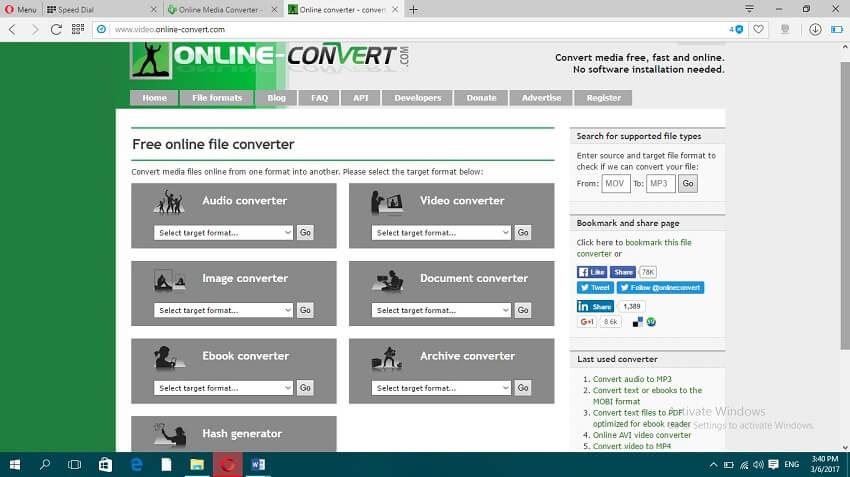 Online MP4 to MOV Convert - Online Video Converter