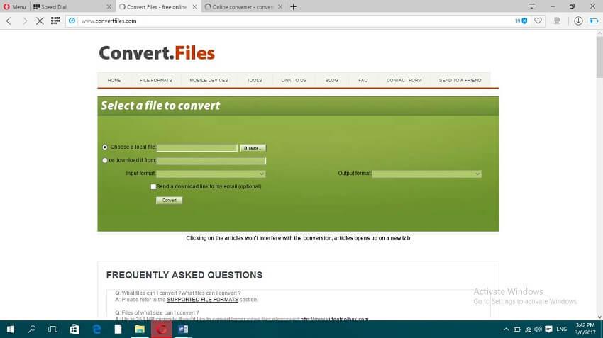 Online MP4 to MOV Convert - Convert.Files