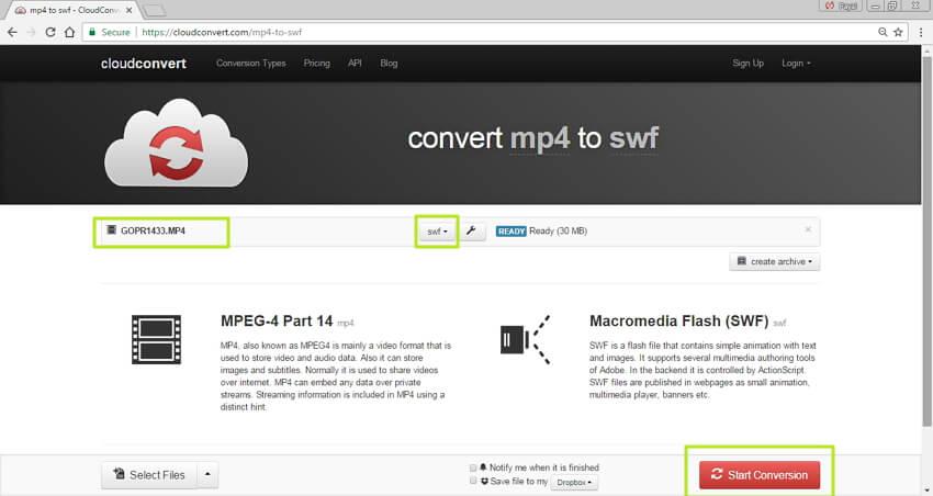 Best Methods To Convert Mp4 To Swf Online