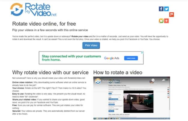 Top 3 Online Websites to Rotate MP4