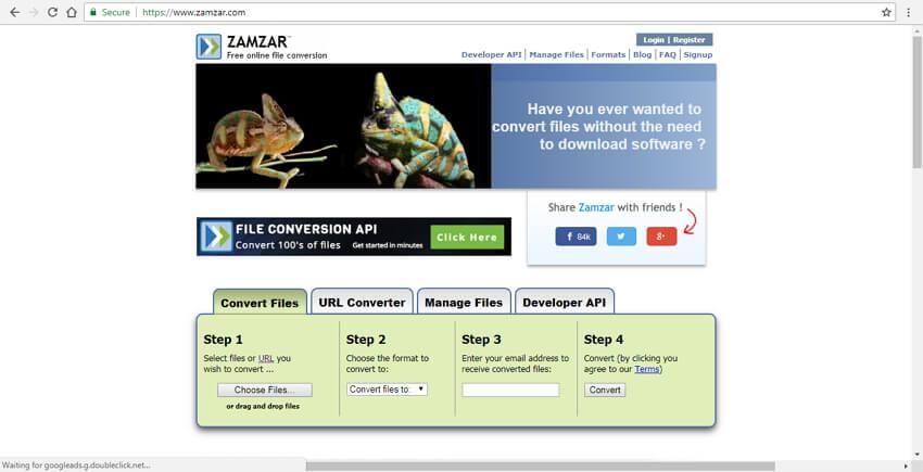 url to mp4 converter free online Zamzar