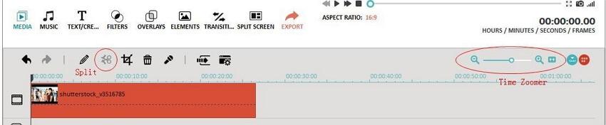 split MPEG clips