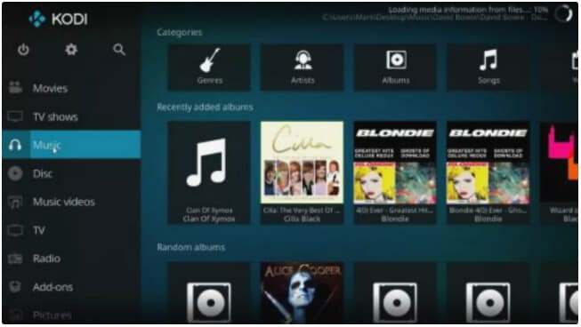 free alternative to Windows Media Player - Kodi