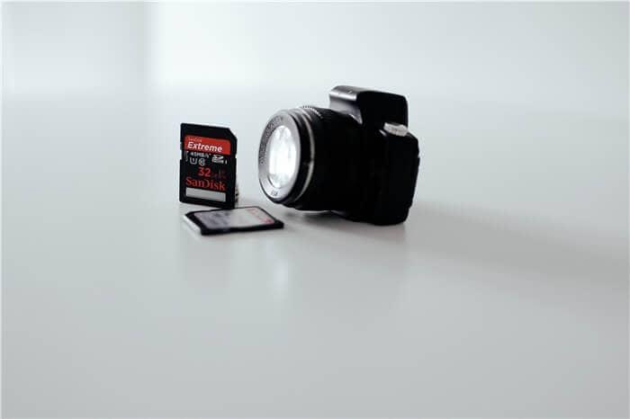 prepare a camera
