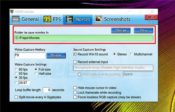 open movie tab