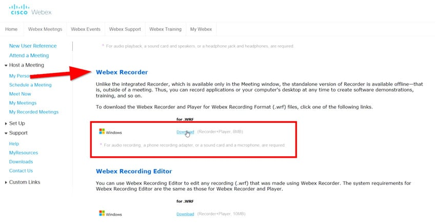 download windows audio recording tools