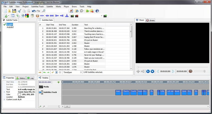 ahd subtitles maker