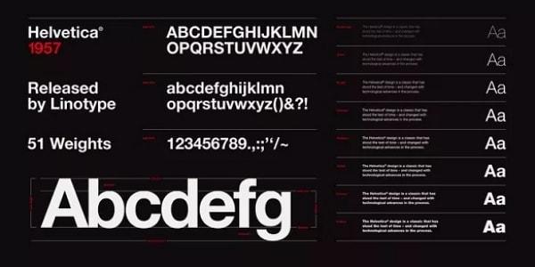 various subtitle fonts