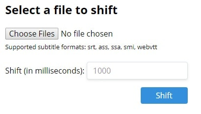 Hit the shift button