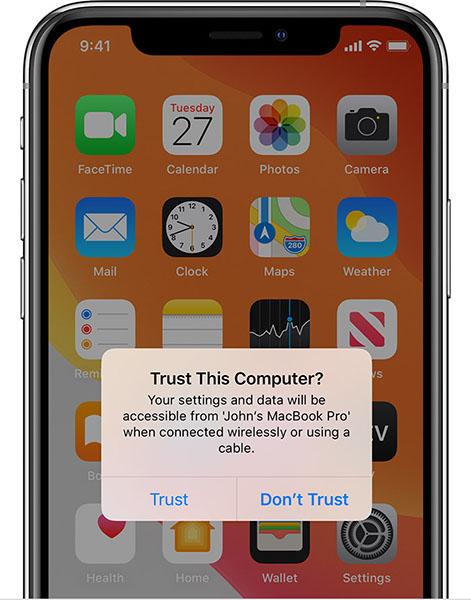 trust device