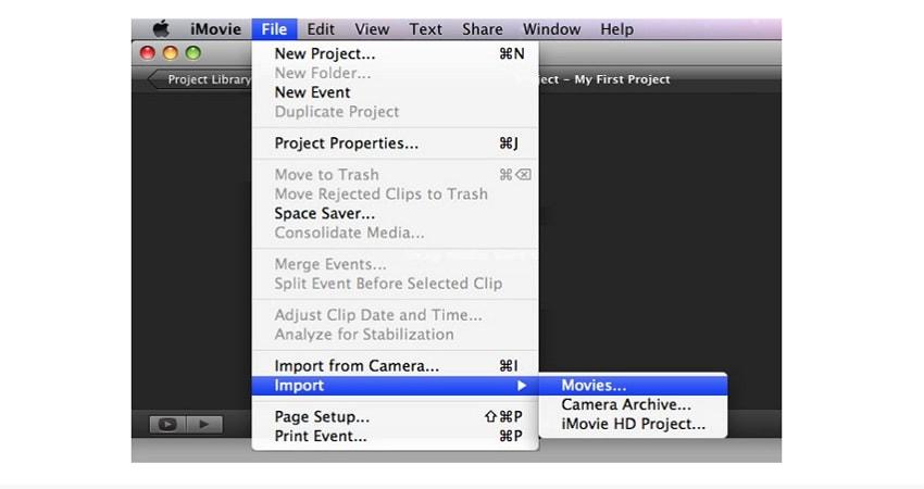 transfer YouTube videos to iMovie