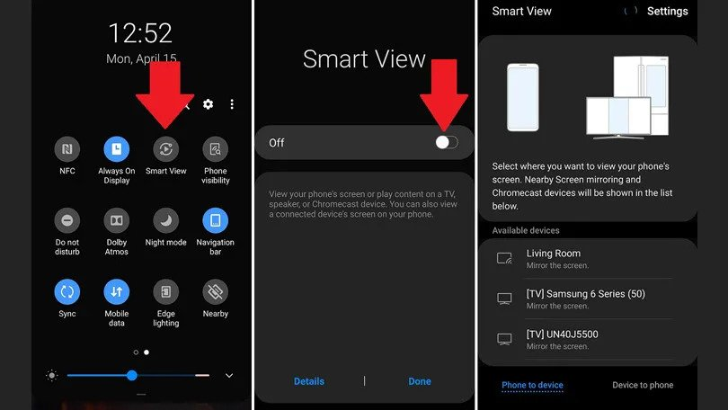use Samsung's Smart View