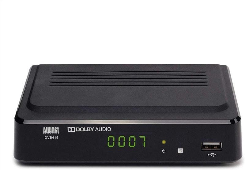 August DVB415 Recorder