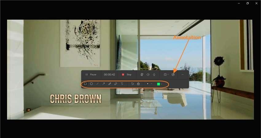 Start capturing your desktop screen