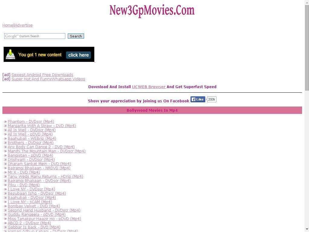 New 3GP Movies