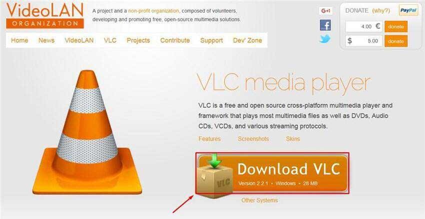 VLC-Player für Kein Ton beim MP4-Video