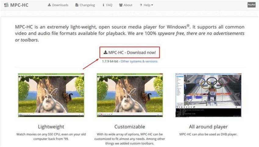 MPC-HC Player für MP4 Vdieo Kein Ton