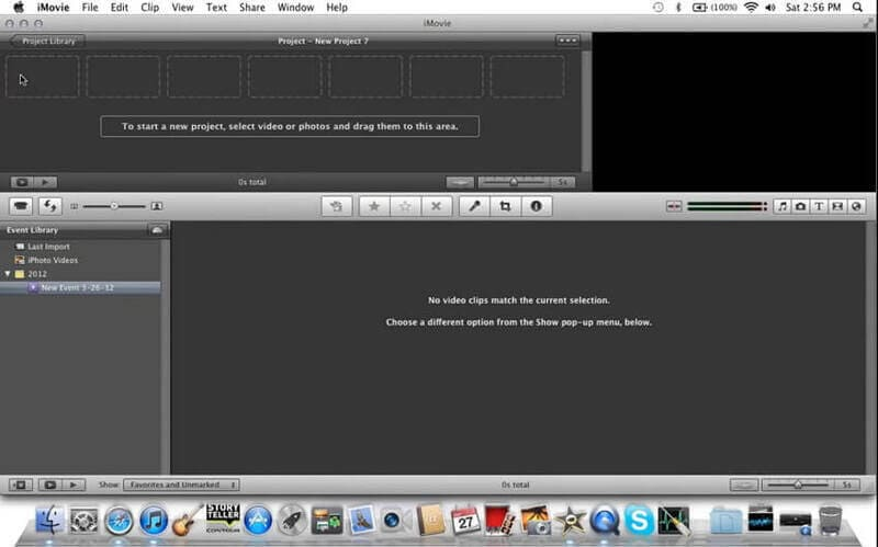 convert MP3 to video with iMovie -1