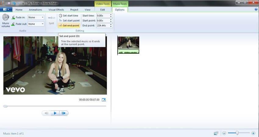 convert MP3 with Windows Movie Maker - 3