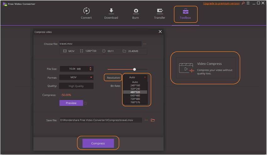 free video resolution converter