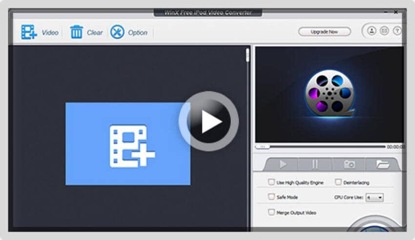 WinX Free iPod Video Converter