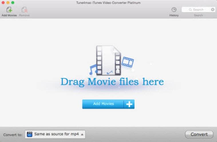 iTunes video converter online - Tune4mac iTunes Video Converter