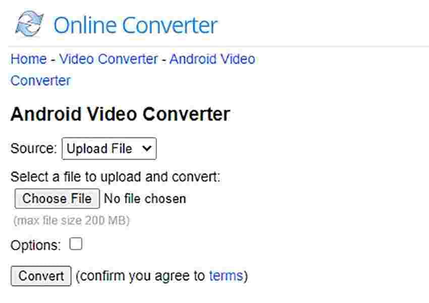 Online Converter for Android