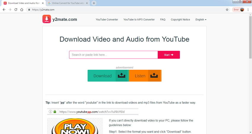 top 10 online video converter to MP3 - 9