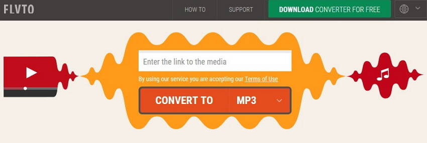 online video to MP3 converter - 3