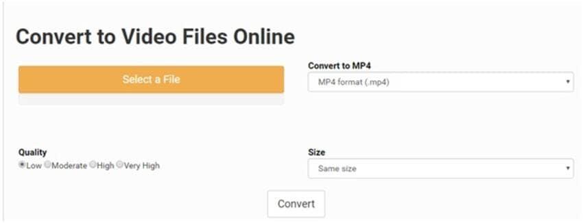 online video converter - Convert Files