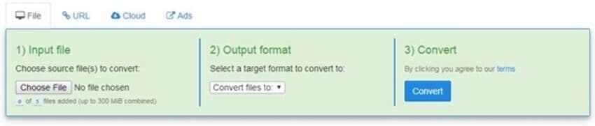 online video converter - FreefileConvert