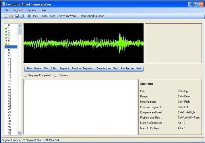 video to text converter EureScribe