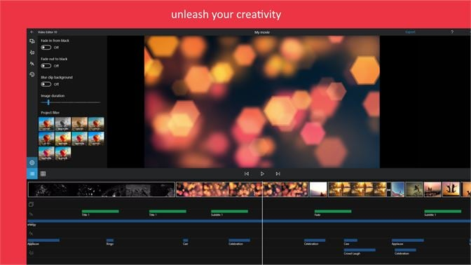 microsoft photo apps with video editor