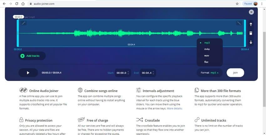 audio joiner