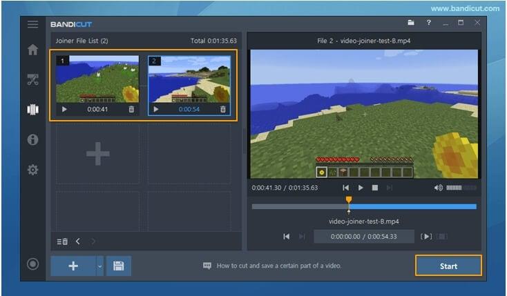 video merger bandicut