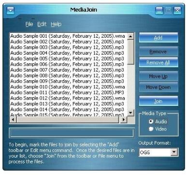 free wmv merger - Media Join