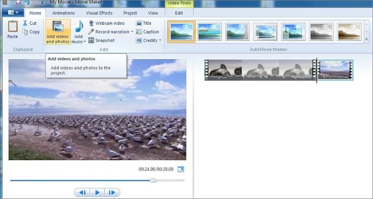 Video Tools Edit